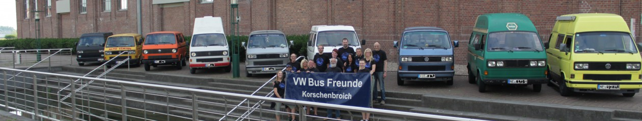 VW Bus Freunde Korschenbroich